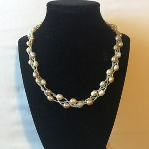 Jewelry - Pearl and beaded necklace